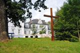 Krzyż w parku