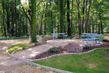 Park należący do Domu Rekolekcyjnego